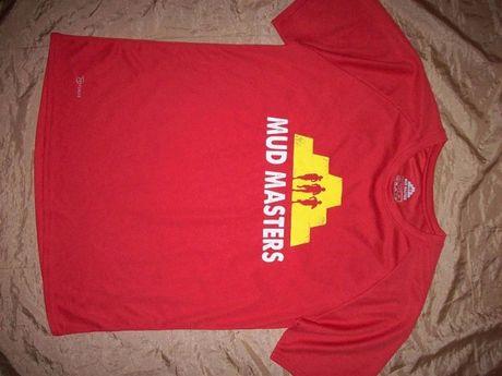 Брендовая треккинговая потоотводящая футболка Mud Masters Dry Power