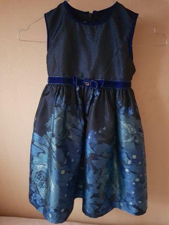 Детское праздничное платье (104 см)