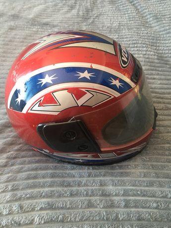 Шлем VCAN мото шлем. ява.иж.дельта.альфа.мопед.скутер.байк