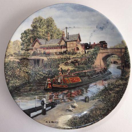 Фарфоровые тарелки Dunbury mint Wedgwood