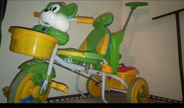 Rowerek dla dziecka rower dla dziecka trójkołowy z rączką