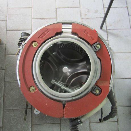 Бак стиральная машина Ariston ALS748TX Чугун/нержавейка