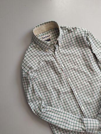 Мужская фланелевая рубашка Barbour как Burberry