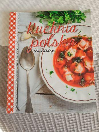 "Książka kucharska "" Kuchnia polska dla każdego"""