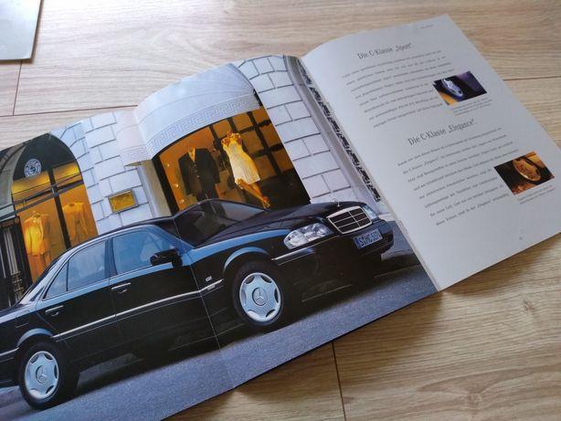 Mercedes C Klasa - prospekt folder literatura
