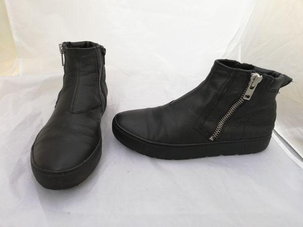 Buty botki skórzane Vagabond Bree r. 40 ,wkł 26 cm