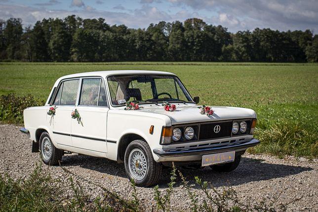 Zabytkowy Samochód Fiat 125P Klasyk Retro doŚlubu na Wesele Kraków PRL