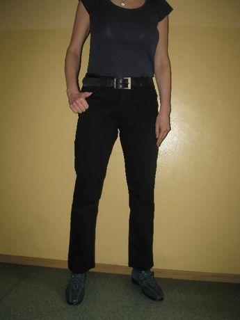 Maverick - dżinsy uniseks - Emerald - W27-34 x L31 - czarne