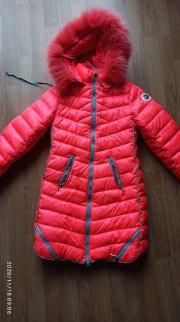 Пальто зима, размер 140