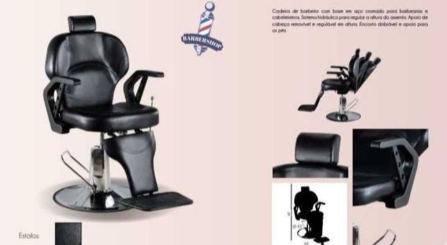 Cadeira barbeiro ( nova )