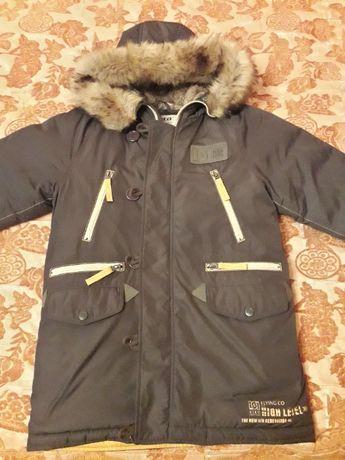 Куртки зимние подростковые на мальчика