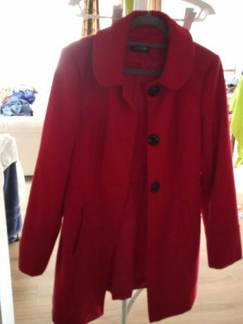 Płaszcz czerwony George rozmiar 40