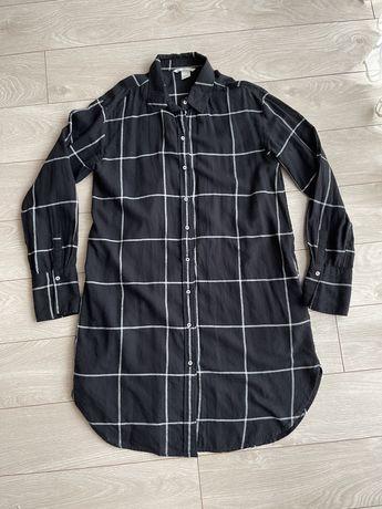 Плаття-сорочка h&m платье-рубашка