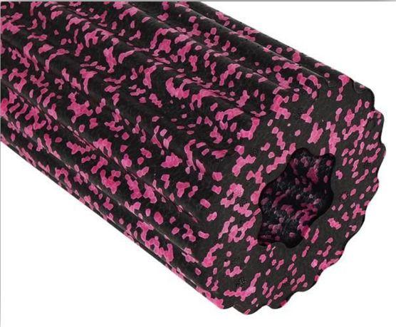 ROLLER wałek do masażu czarno-różowy