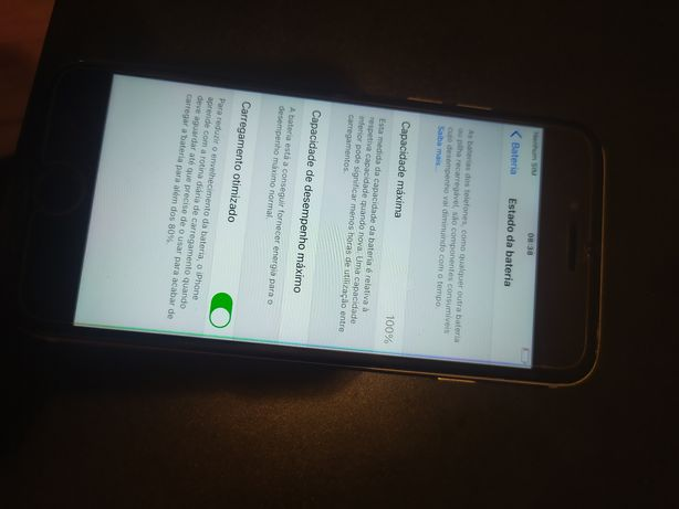 iPhone 6s 64gb 100% bateria