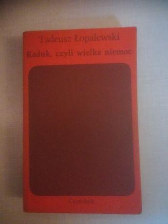 Książka Kaduk, czyli Wielka Niemoc - Tadeusz Łopalewski