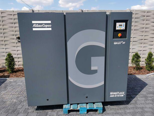 Sprężarka śrubowa 6800l/m ATLAS COPCO GA37FF kompresor 37KW + OSUSZACZ