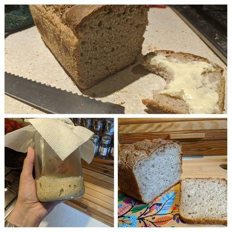 Zakwas żytni na chleb i bułki