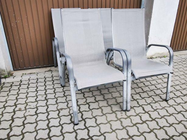 Komplet krzeseł ogrodowych z niemiec