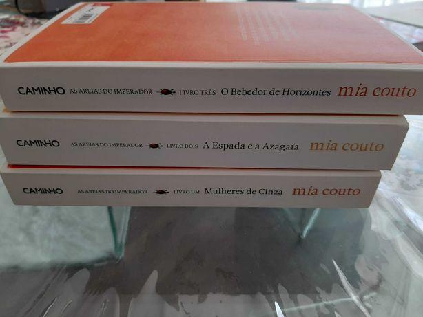 Livros Mia Couto - Areias do Imperador