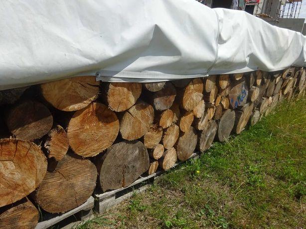 drzewo drewno na opał opałowe kominkowe świerk sosna 4 lata TRANSPORT