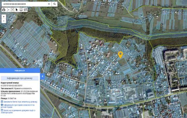 Продаж земельної ділянки під забудову (с/г призначення) в Чорткові
