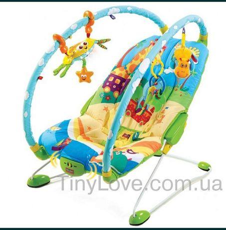 Шезлонг, Массажное кресло-качалка Tiny love