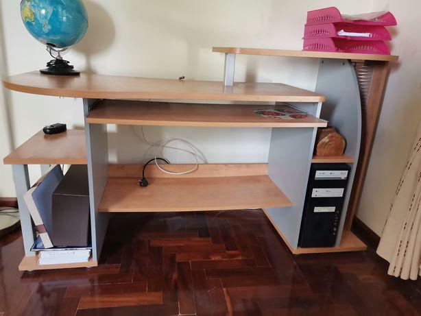 Urgente - Mesa Secretaria Escritório Madeira