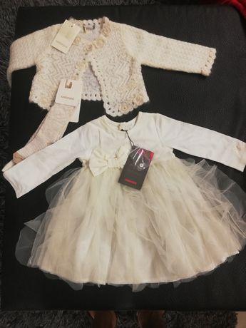 Vestido de menina novo Catimini