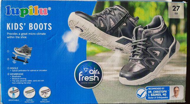 Nowe buty dziewczęce wiosenne przejściowe 27 Lupilu zimowe na zimę