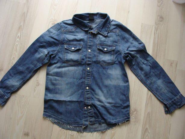 Koszula jeansowa rozm.128