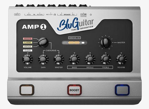 Гитарный усилитель-BluGuitar AMP1-голова (100ватт нано лампы)Вес: 1кг.