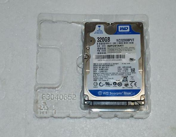 Жесткий диск HDD 2,5 320GB 5400rpm SATA 3 WD Scorpio Blue WD3200BPVT