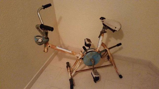 Bicicleta de ginastica vintage