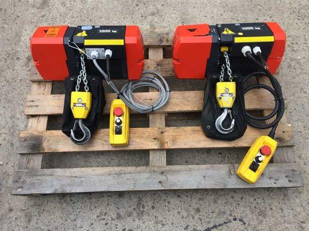 Wciągnik 1000kg VETTER suwnica wciągarka, demag, elektrowciąg, wyciąg