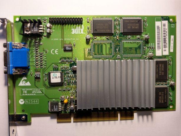 Видеокарта 3dfx Voodoo 3 3000 PCI 16mb НОВАЯ!