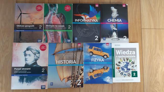 książki 2 klasa liceum