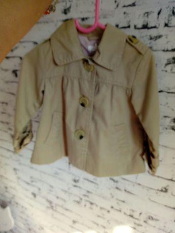 Płaszczyk jesienno wiosenny H&M