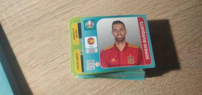 Обмен карточек Panini UEFA Euro 2020