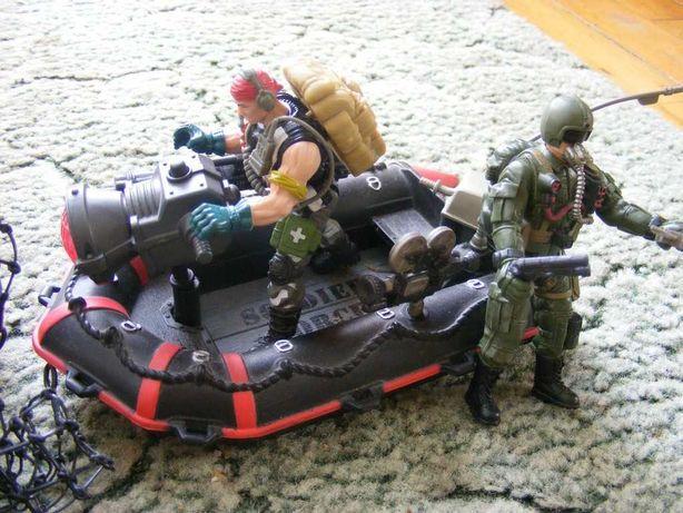 Figurki żołnierzyki marki Chap mei 13 figurek bronie ponton