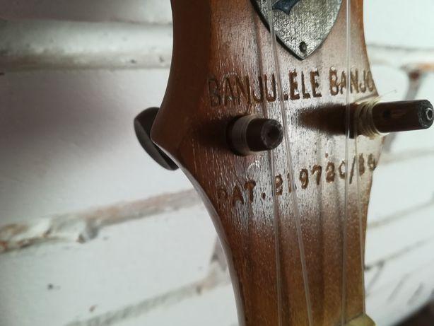 Banjulele. Banjo. Banjolele . Unikat! Sygnowany..Taniej .Przecena .