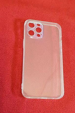 Capa transparente iphone 12 pro max, com proteção de lentes