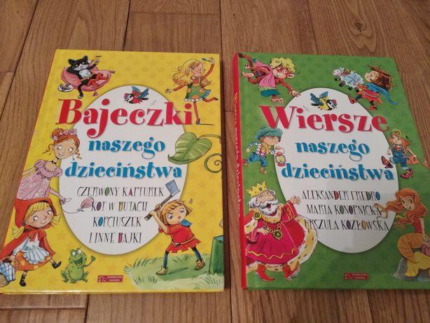 Książki bajki dla dzieci wierszyki