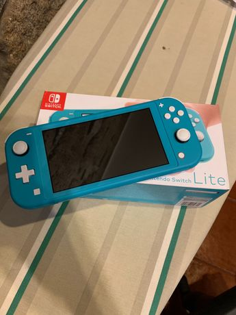 Nintendo switch lite (AZUL)