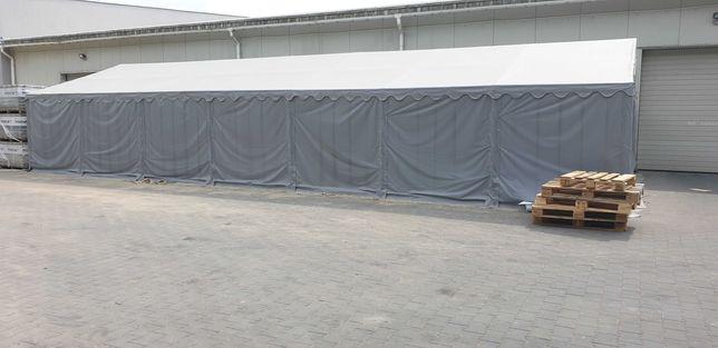 Namiot magazynowy szary hala namiotowa 6x14 wys 2m, srednica rur 50mm