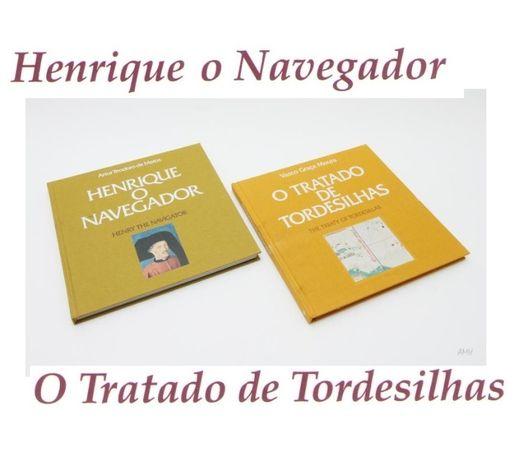Filatelia Descobrir Henrique o Navegador e O Tratado de Tordesilhas