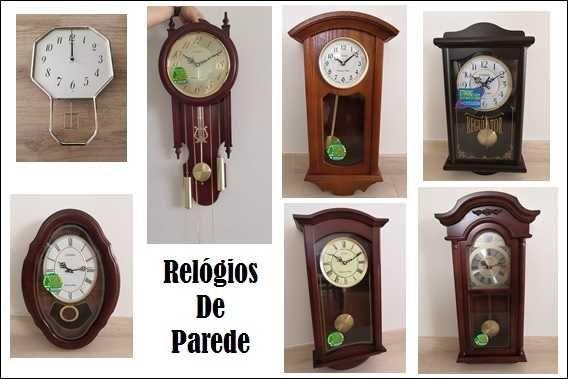 Relógios de Parede (Marca Citizen, NOVOS)