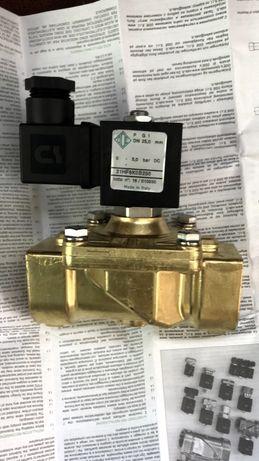 Клапана электромагнитные 21HF6KOB250 НОВЫЕ нормально закрытые G-1