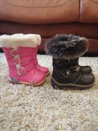 Зимнея обувь для маленьких принцес
