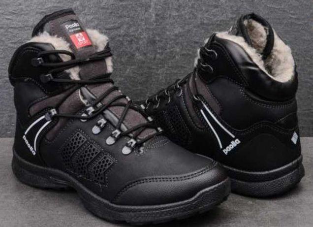 Мужская зимняя осенняя обувь ботинки чоловіче зимове взуття.
